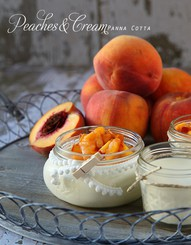 delicious peaches and cream