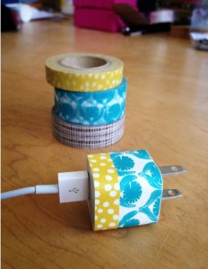 washi tape usb charger